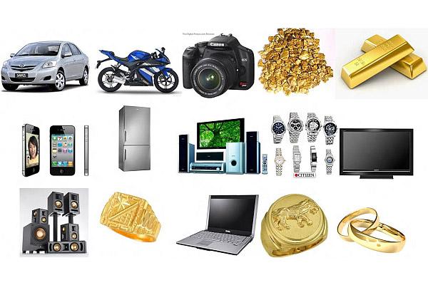 Care sunt cele mai amanetate bunuri?
