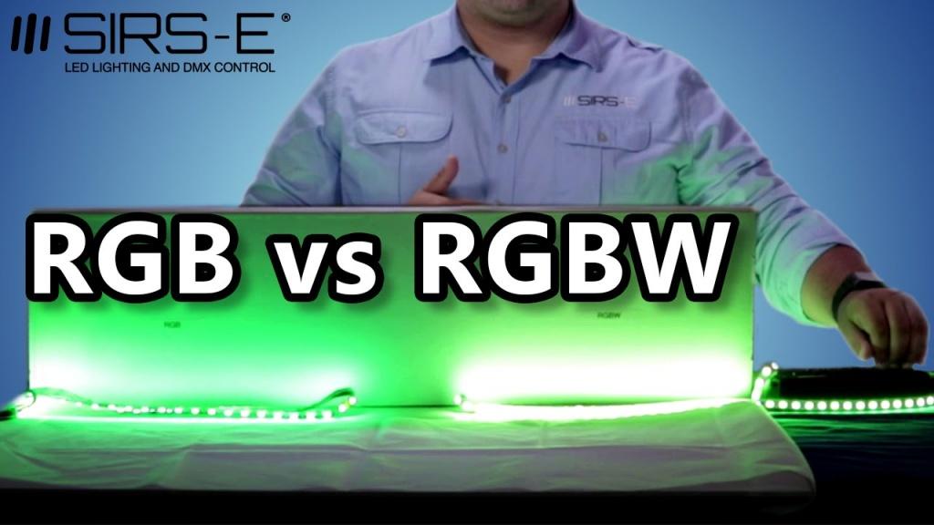 Ce alegem, RGB sau RGBW?