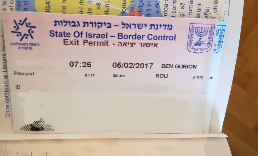 Intrebari frecvente legate de vize pentru Israel