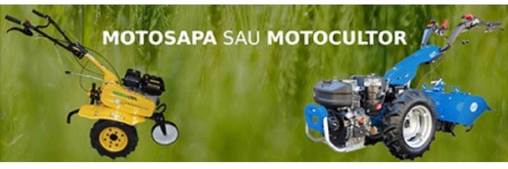 Motocultor vs. motosapa