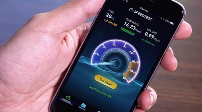Testarea vitezei de internet pentru telefoanele Android