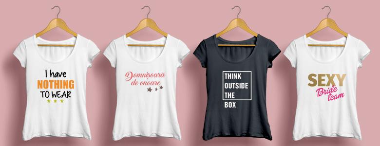 Unde se gasesc cele mai frumoase tricouri personalizate?
